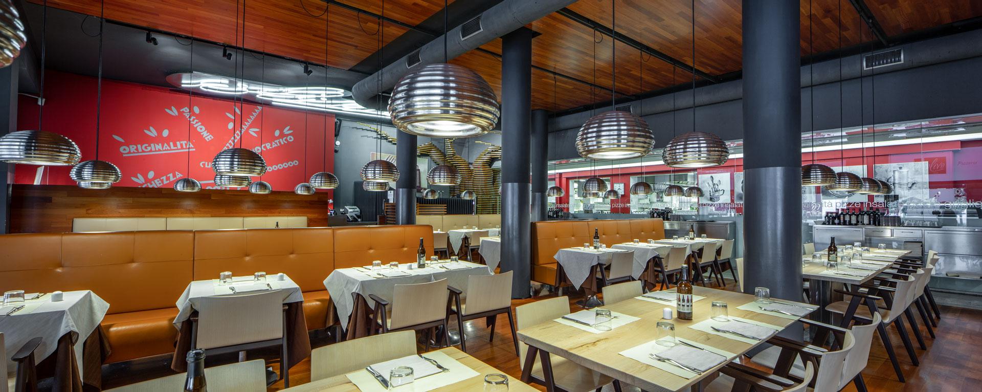 Interni del ristorante L'Olivo 1939